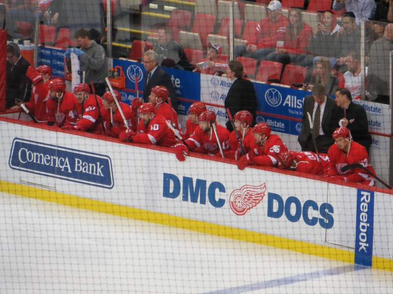 Seating view for Joe Louis Arena Section 203B Row 3 Seat 15