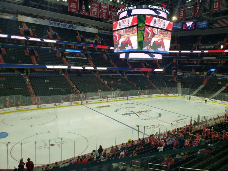 Seating view for Capital One Arena Section 227 Row A Seat 5
