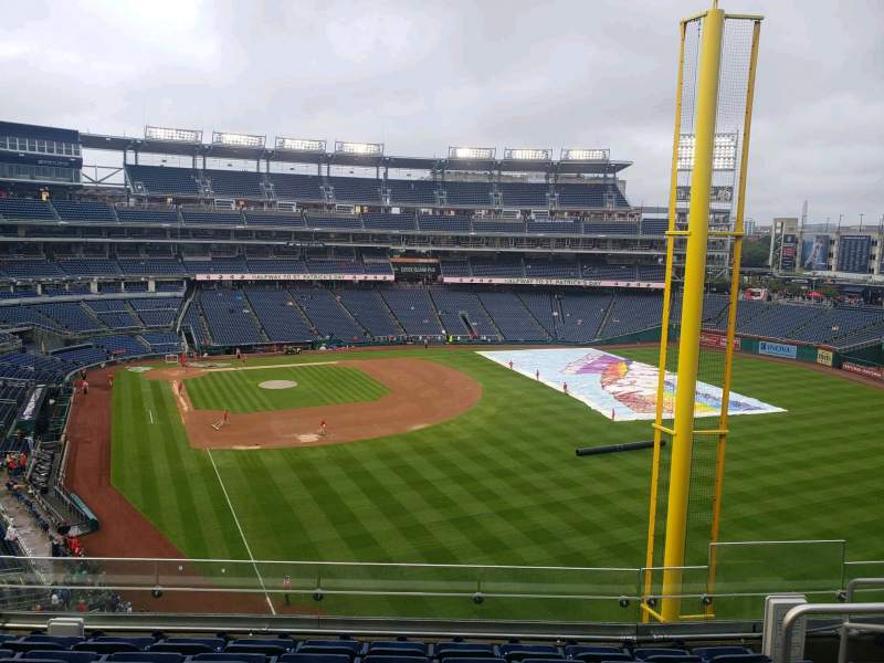 Seating view for Nationals Park Section 232 Row G Seat 4