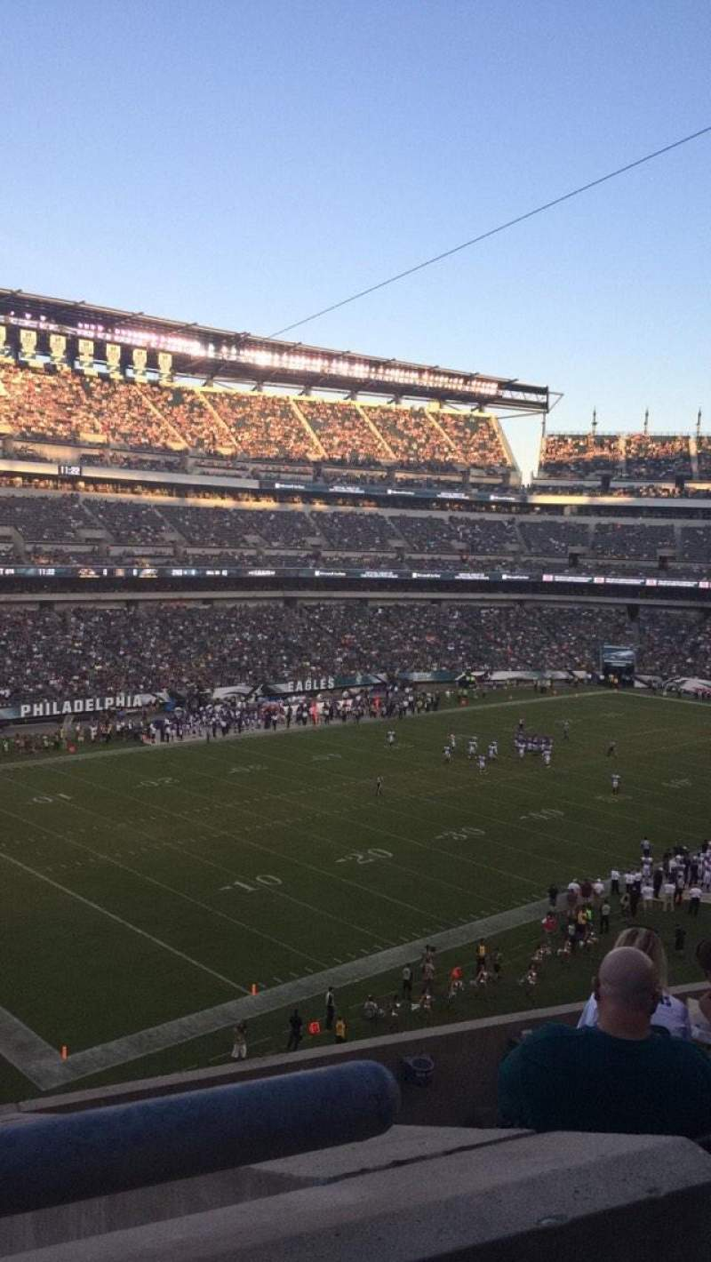 Seating view for Lincoln Financial Field Section C35 Row 10 Seat 14