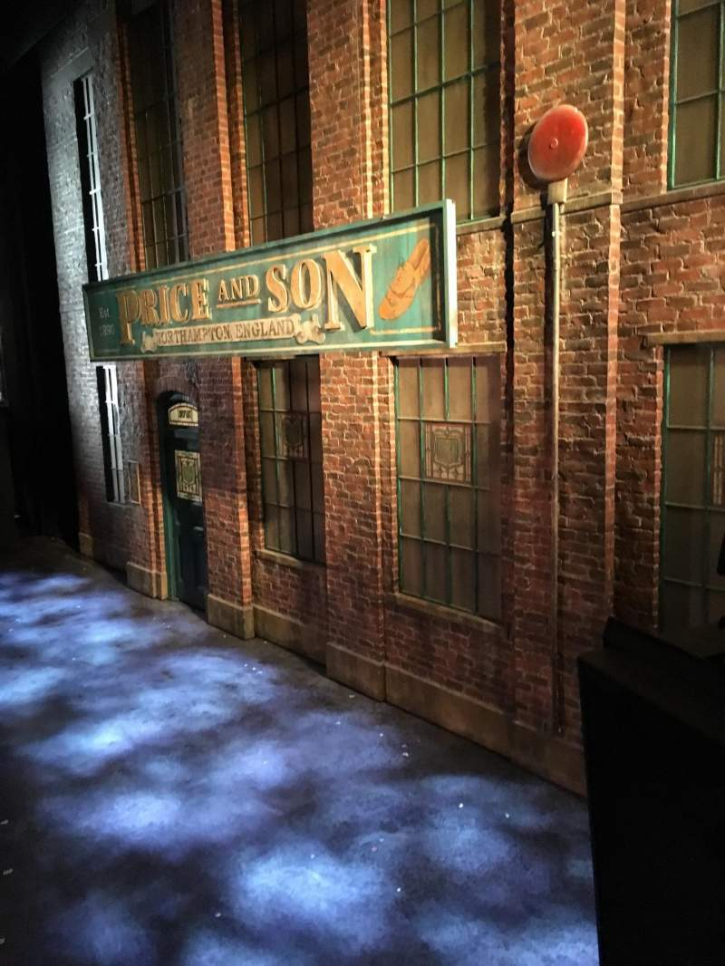 Seating view for Al Hirschfeld Theatre Section Right Box Row A Seat 1
