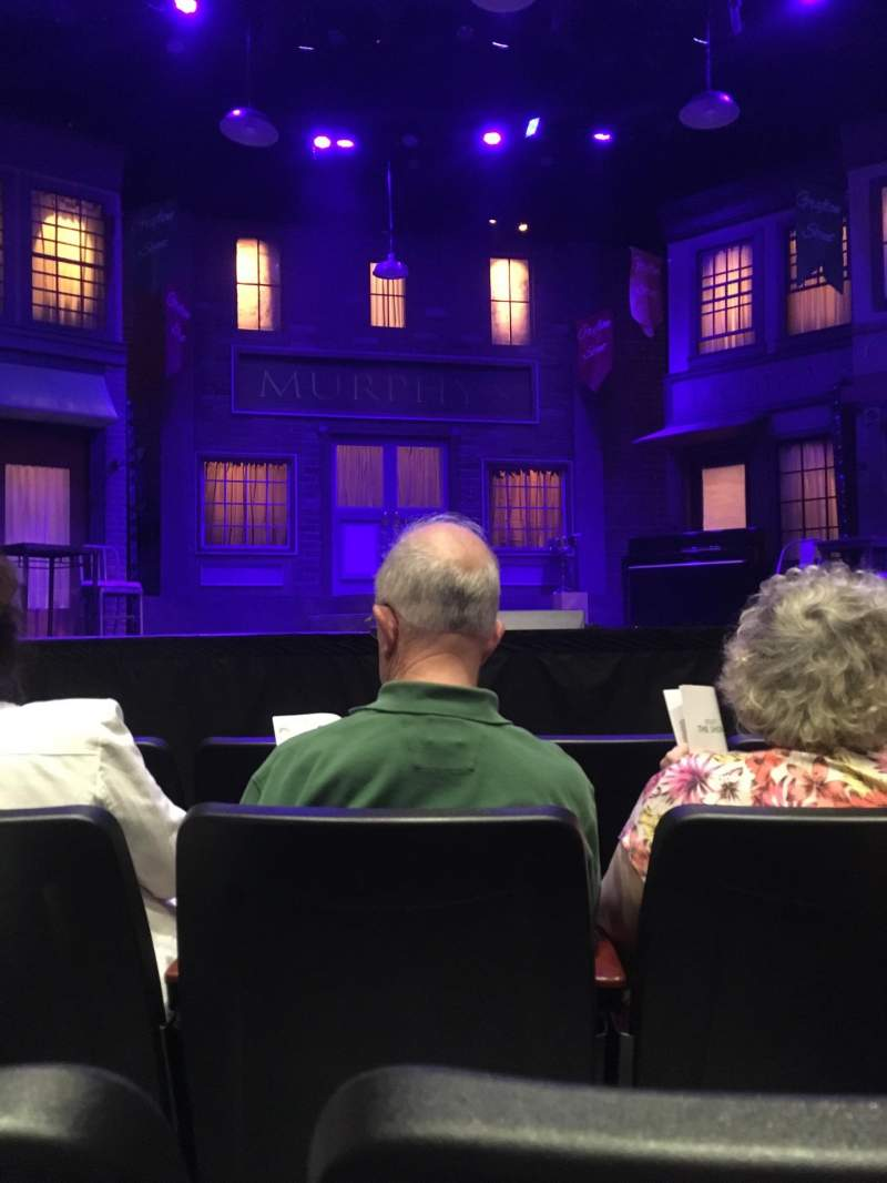 Seating view for Saint Michaels Playhouse Section Orch Ctr. Row D Seat 15