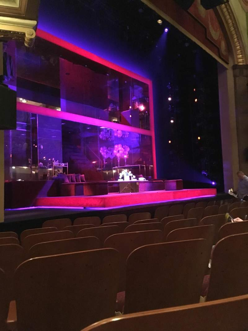 Seating view for Booth Theatre Section Orchestra L Row E Seat 15