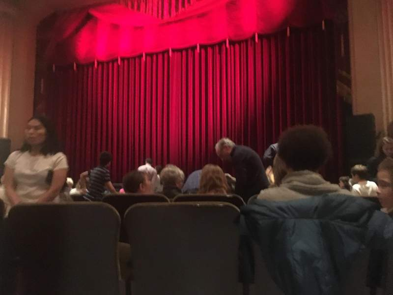 Seating view for Flynn Center for the Performing Arts Section Orch right Row K Seat 5