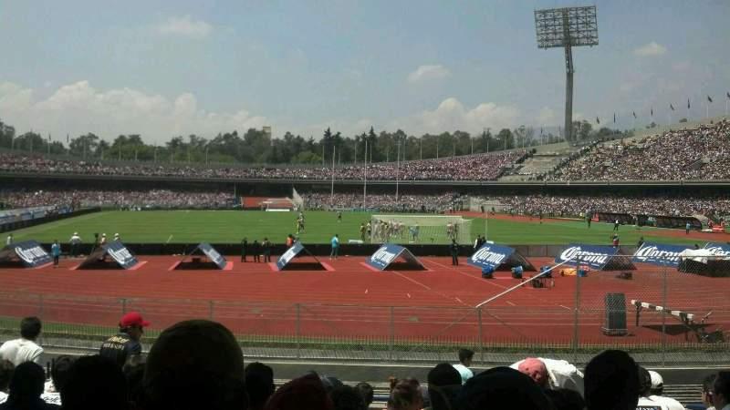 Seating view for Estadio Olímpico Universitario Section Planta Baja