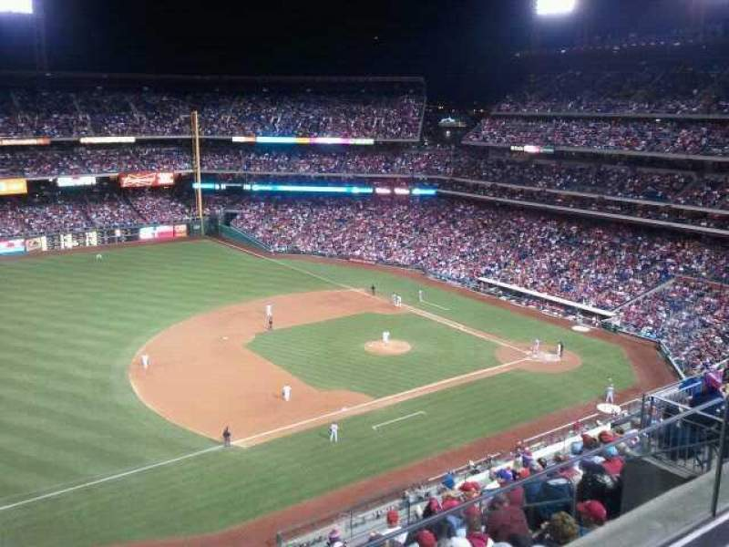Seating view for Citizens Bank Park Section 429 Row 2 Seat 13