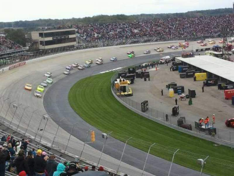 Seating view for Dover International Speedway Section 207 Row 24 Seat 17