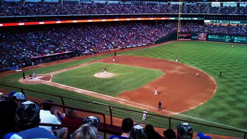 Seating view for Globe Life Park in Arlington Section 236 Row 6 Seat 4
