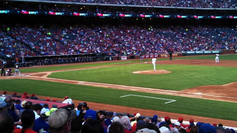 Seating view for Globe Life Park in Arlington Section 35 Row 17 Seat 8