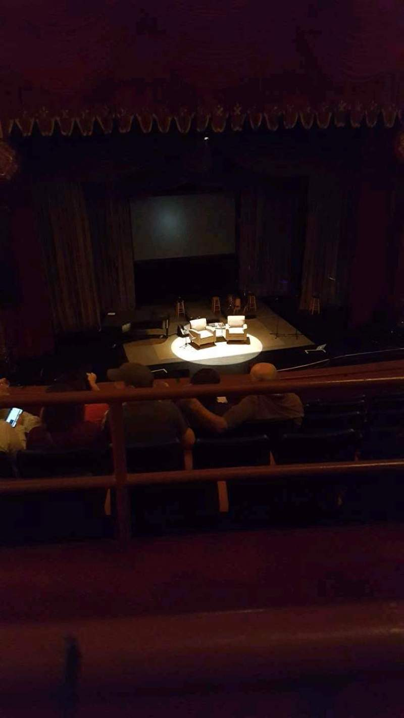 Seating view for Riverside Theater (Milwaukee) Section 2LC Row F Seat 9