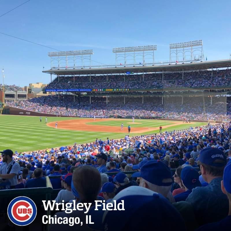 Wrigley Field, section: 204, row: 6, seat: 7