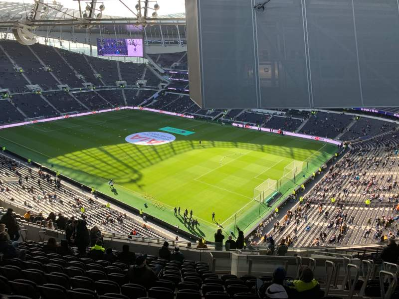 Seating view for Tottenham Hotspur Stadium Section 520 Row 20 Seat 669