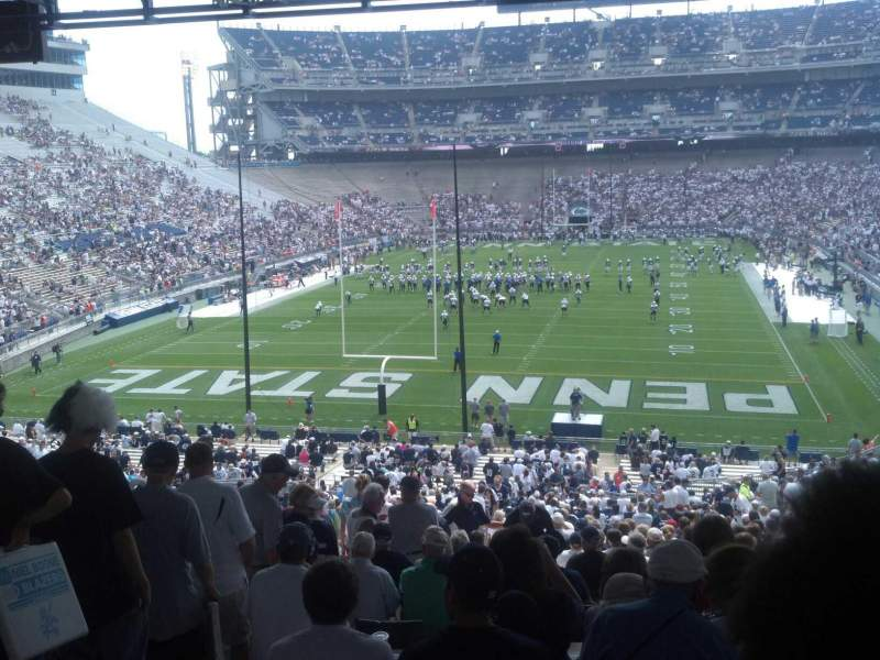 Seating view for Beaver Stadium Section NE Row 59 Seat 9