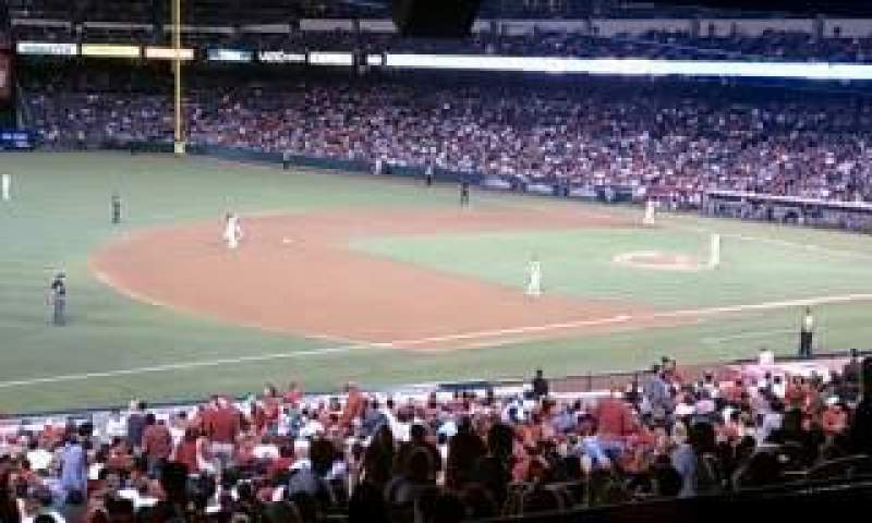 Seating view for Angel Stadium Section T203 Row B Seat 6