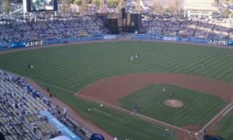 Seating view for Dodger Stadium Section 7TD Row D Seat 1