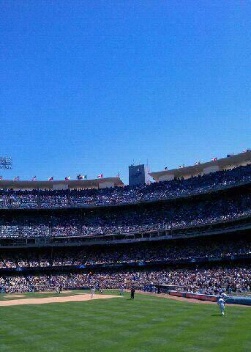 Seating view for Dodger Stadium Section 313PL Row B Seat 3