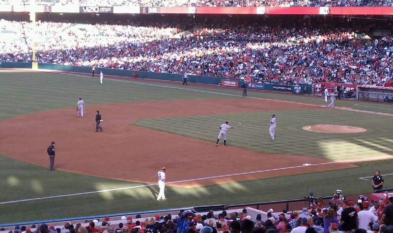 Seating view for Angel Stadium Section T210