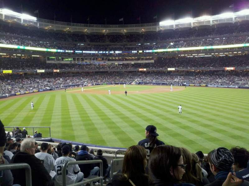 Seating view for Yankee Stadium Section 201 Row 12 Seat 28