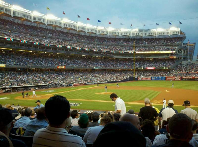 Seating view for Yankee Stadium Section 115 Row 26 Seat 5