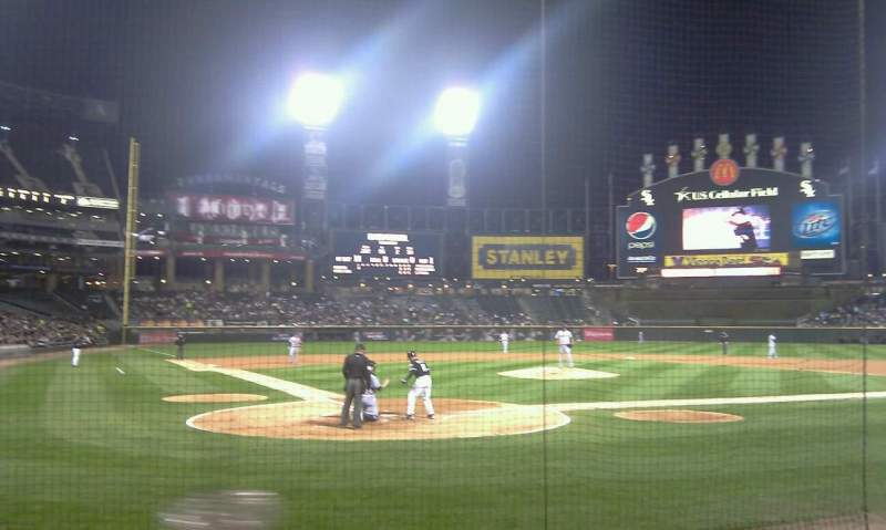 Seating view for Guaranteed Rate Field Section 131S Row 7 Seat 5