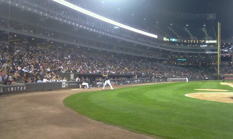 Seating view for U.S. Cellular Field