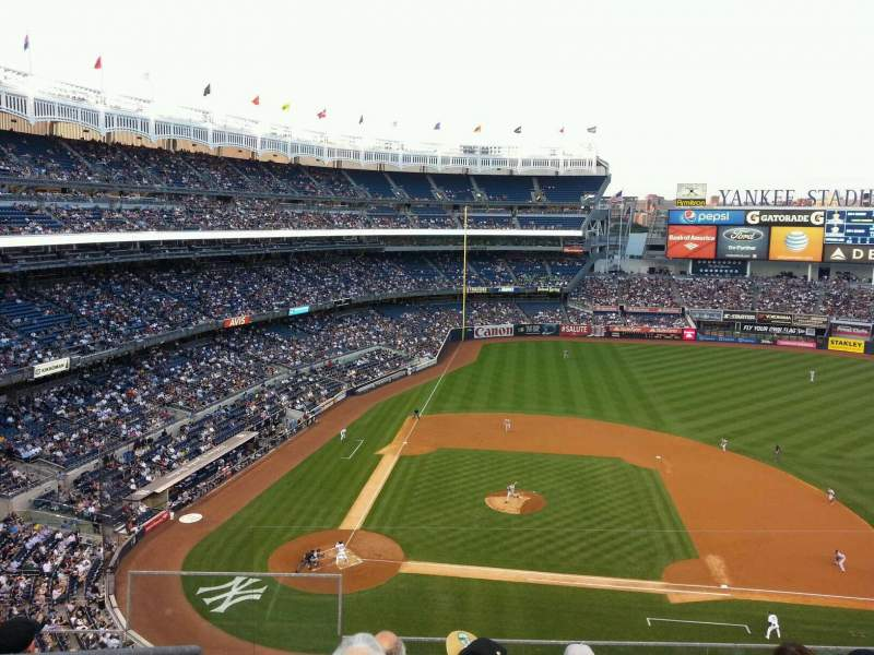 Seating view for Yankee Stadium Section 316 Row 5 Seat 20