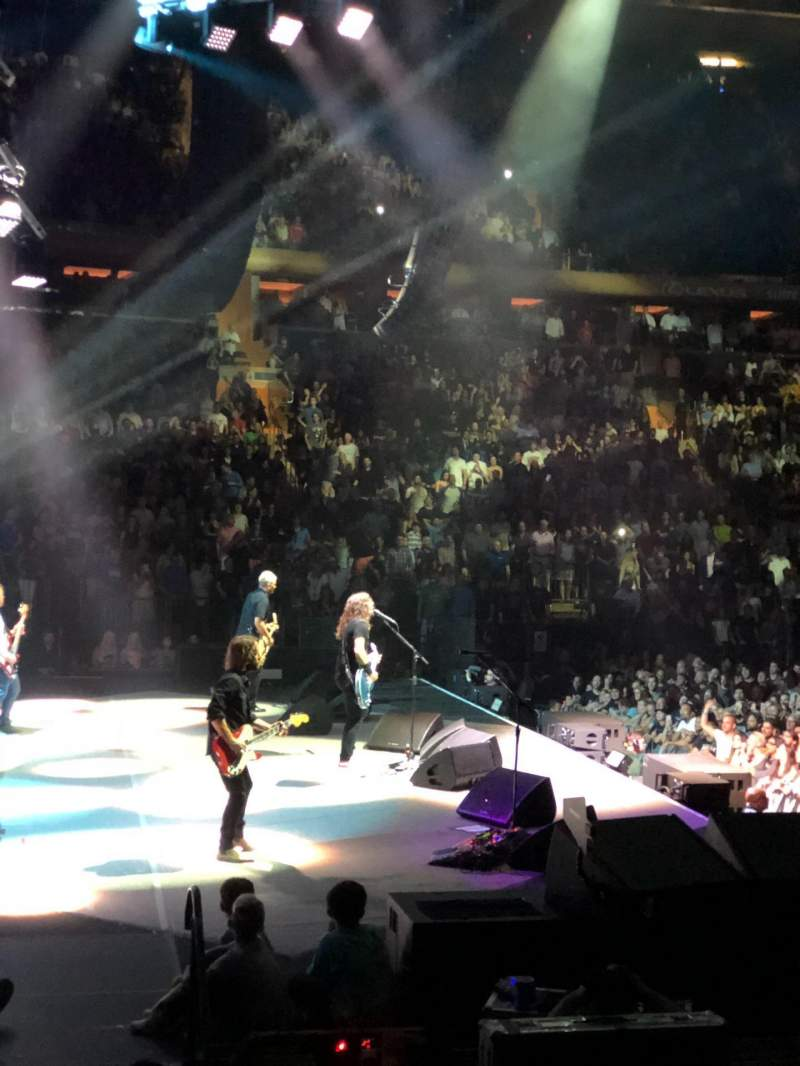 Madison square garden , section: 115, row: 6 , seat: 5