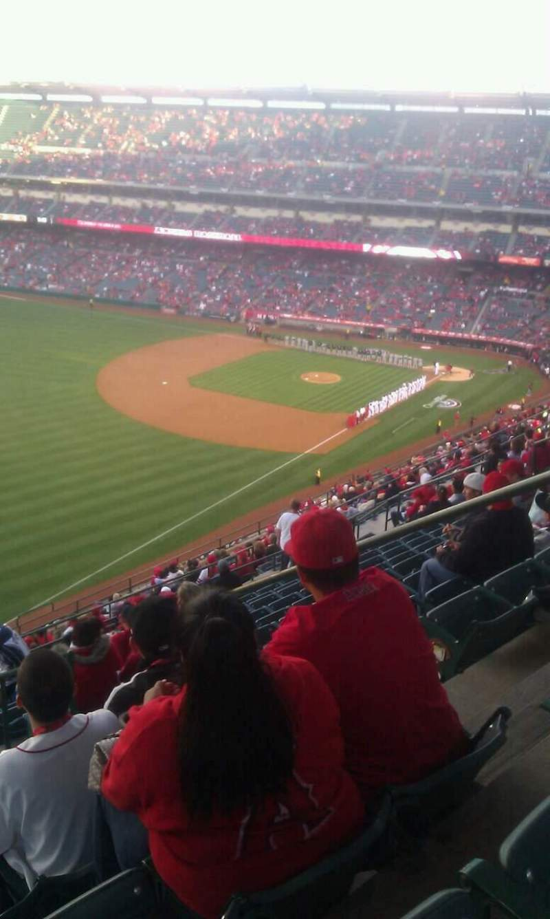 Seating view for Angel Stadium Section V506 Row n Seat 18