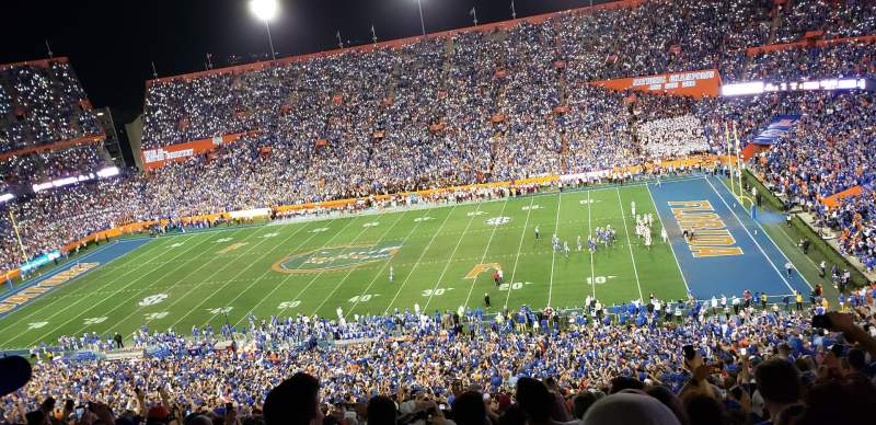 Seating view for Ben Hill Griffin Stadium Section 5 Row 88 Seat 26