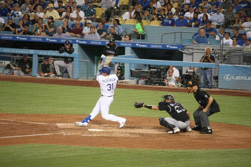 Seating view for Dodger Stadium Section 25FD Row W Seat 6