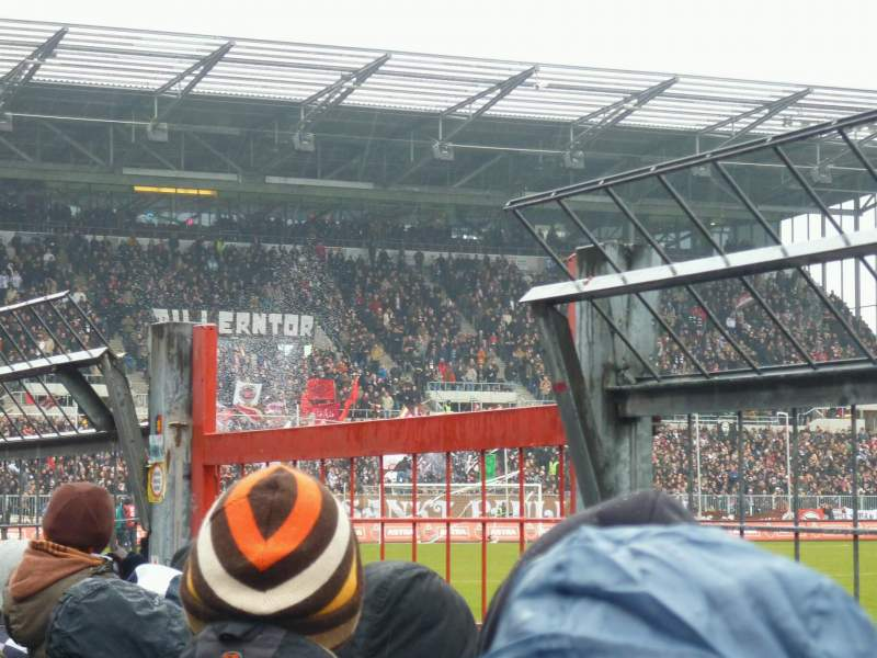 Seating view for Millerntor-Stadion