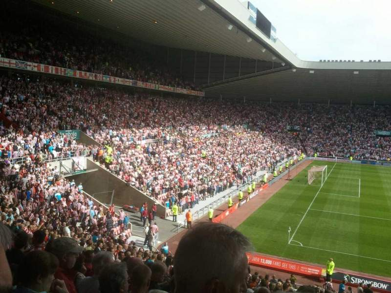 Seating view for Stadium of light Section U22 Row 30 Seat 332