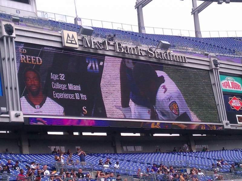M&T Bank Stadium, section: 132, row: 10, seat: 5