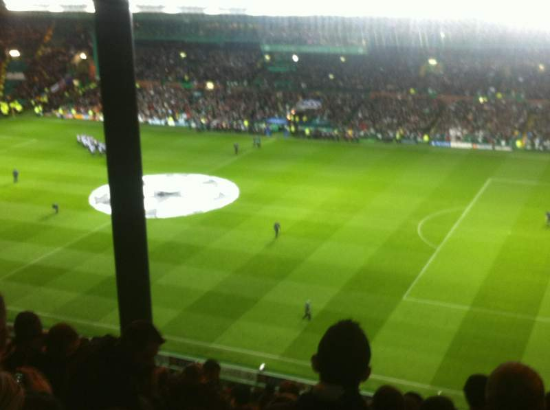 Seating view for Celtic Park Section 402 Row Y Seat 4