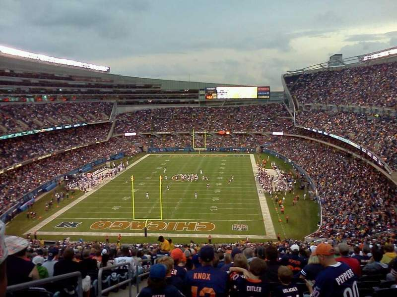Seating view for Soldier Field Section 230 Row j Seat 3