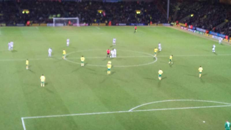 Seating view for Carrow Road