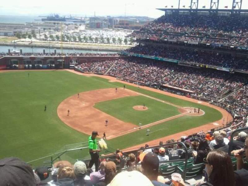 Seating view for AT&T Park Section 328 Row 10 Seat 5