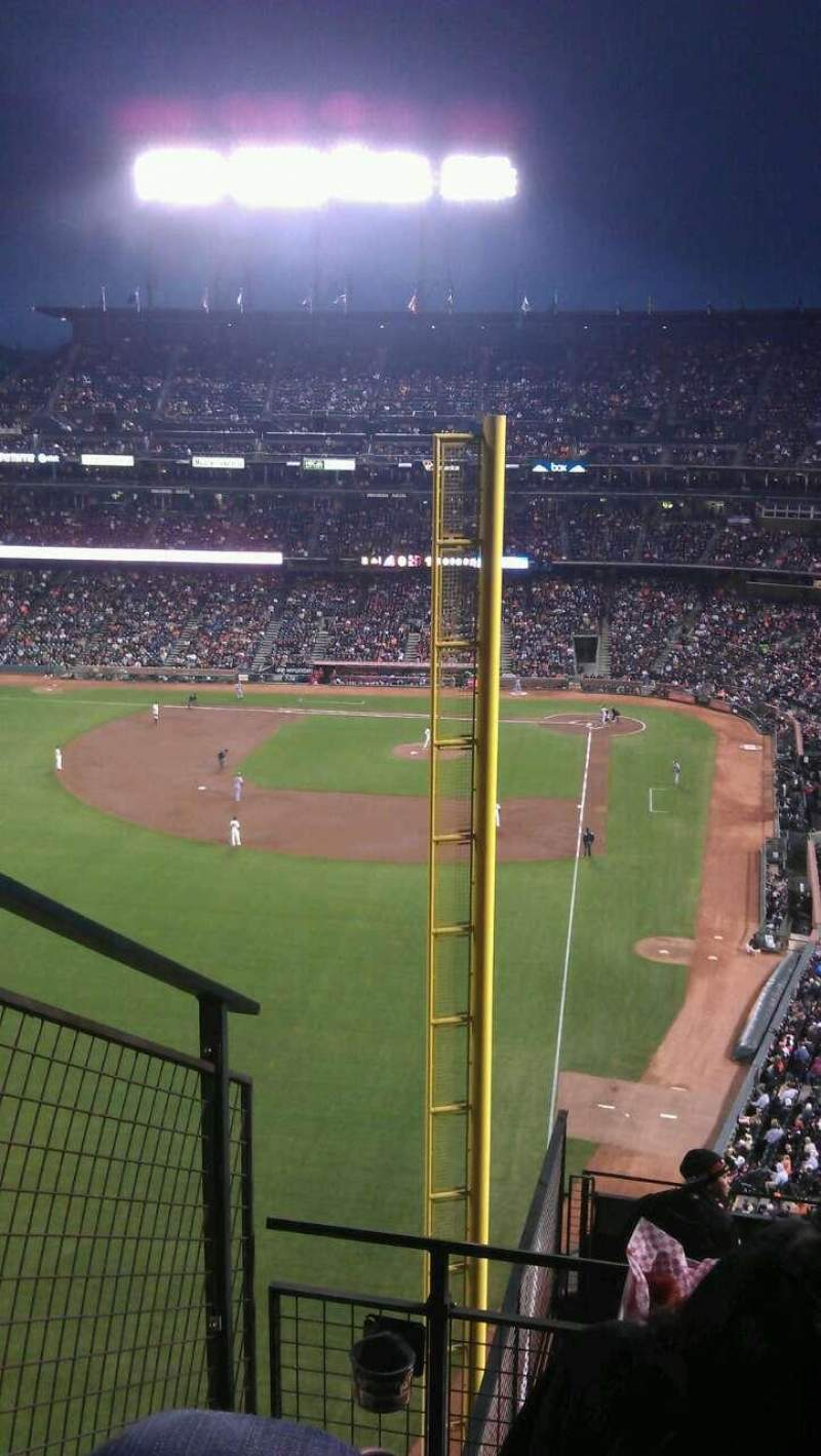 AT&T Park, section: 336, row: 4, seat: 10