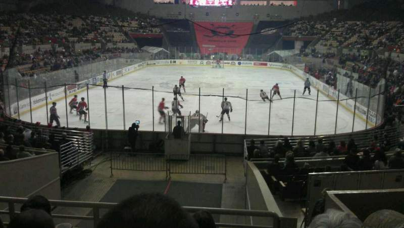 Seating view for Cow Palace Section 1 Row H Seat 2
