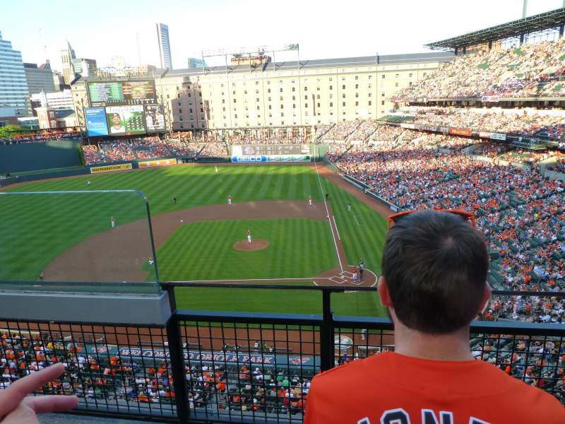 Seating view for Oriole Park at Camden Yards Section 348 Row 2 Seat 10
