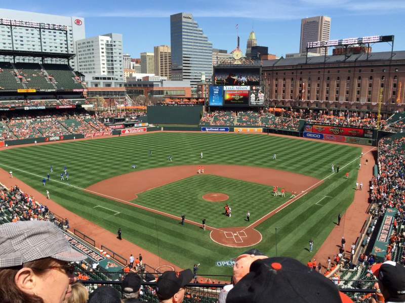Seating view for Oriole Park at Camden Yards Section 340 Row 5 Seat 5