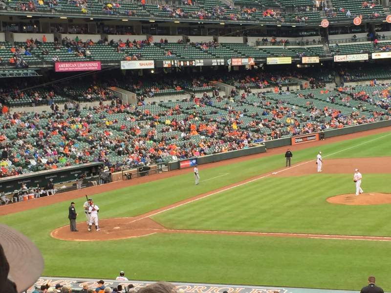 Seating view for Oriole Park at Camden Yards Section 19 Row 4 Seat 2