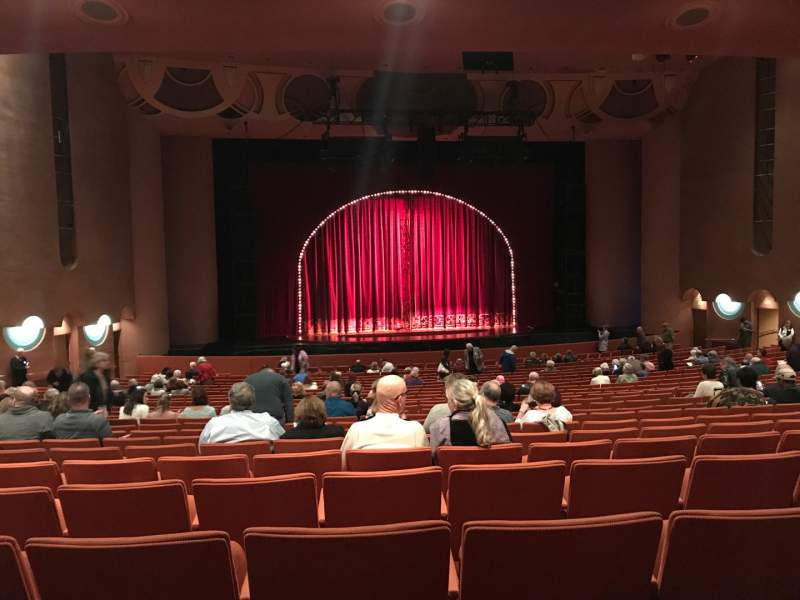 Seating view for ASU Gammage Section Orch Row 24 Seat 21