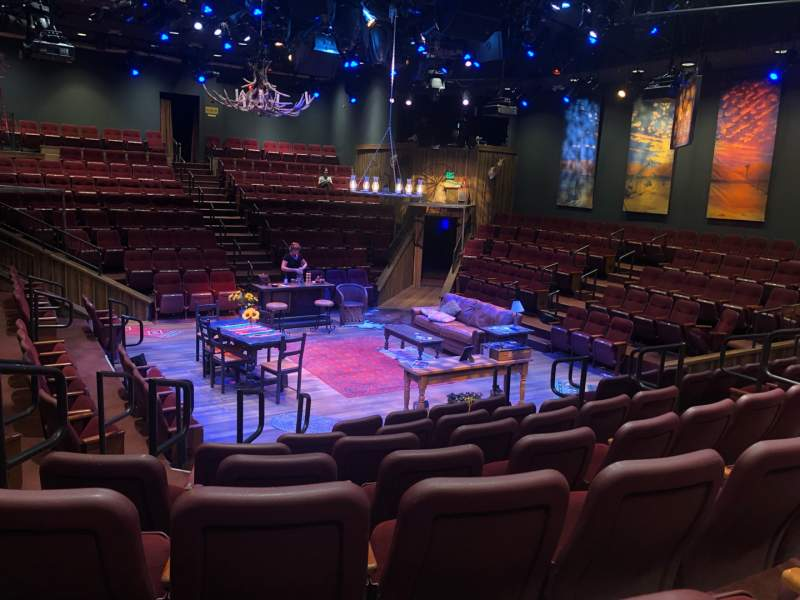 Seating view for Hale Centre Theatre Section South Row G Seat 17