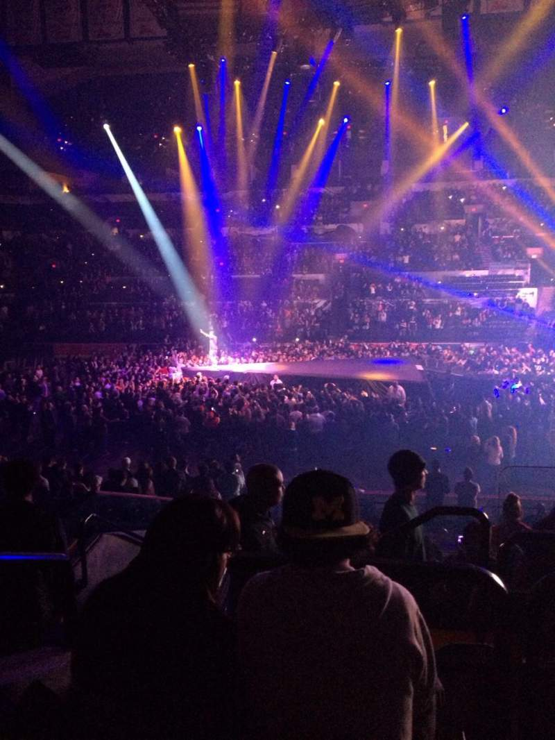 AT&T Center, section: 121, row: 23, seat: 3