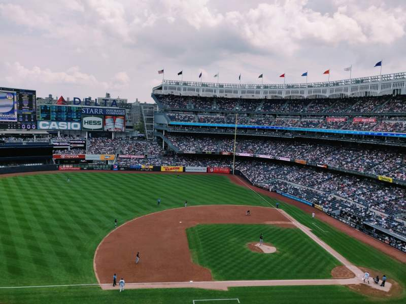 Seating view for Yankee Stadium Section 325 Row 2 Seat 14