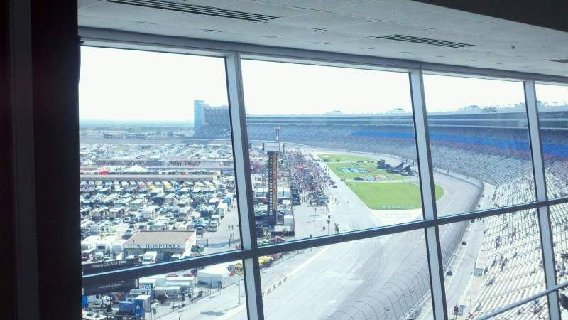 Seating view for Texas Motor Speedway