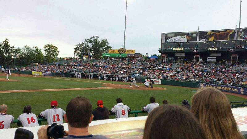 Seating view for Arm & Hammer Park Section 118 Row E Seat 5