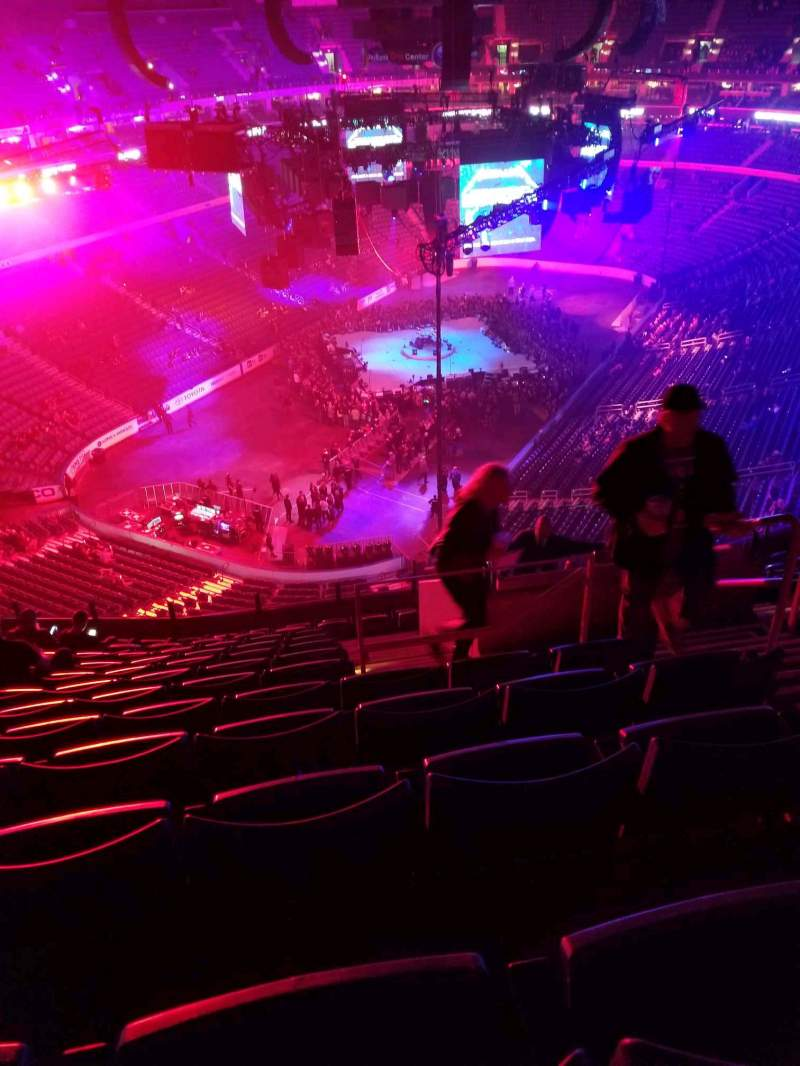 Seating view for KeyBank Center Section 311 Row 12 Seat 4