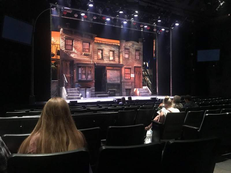 Seating view for New World Stages - Stage 3 Section Orch Left Row K Seat 7